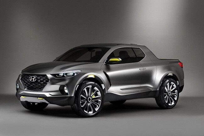 Hyundai shocks with the Santa Cruz Crossover Truck Concept