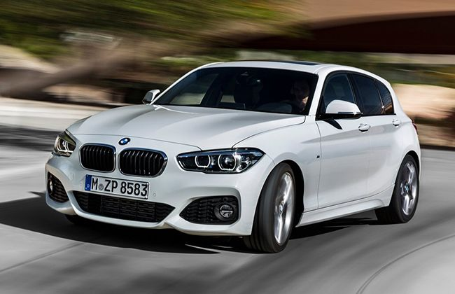 India Bound - 2015 BMW 1-Series Facelift Revealed!