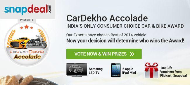 2014 CarDekho Accolade are here!