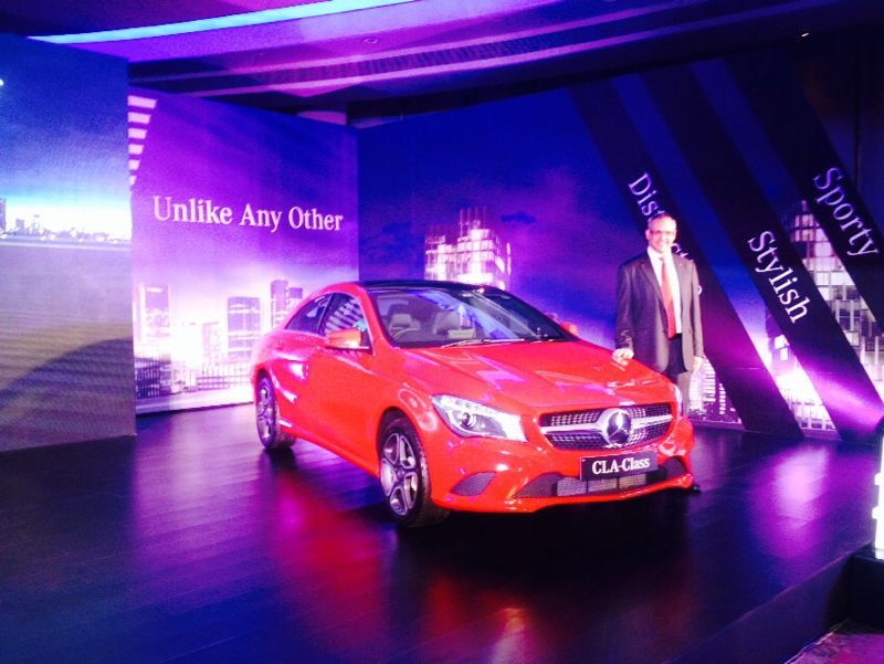 Mercedes-Benz CLA-Class launched in India; priced from INR 31.50 Lacs