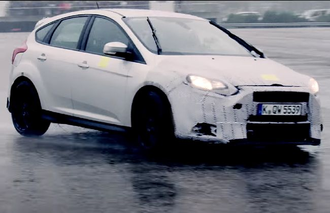 Ford Focus RS Teased [Video], World Debut Set for 3rd of February!