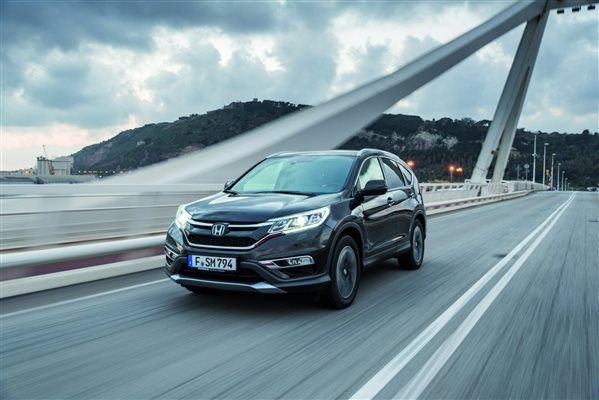 Euro-Spec Honda CR-V Revealed