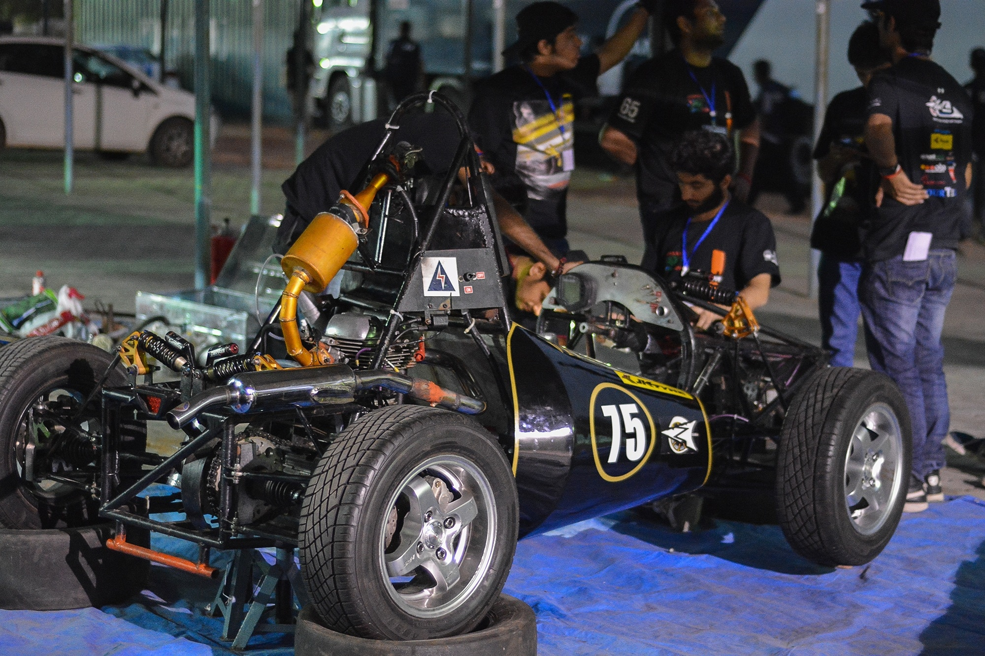 Team Orion Racing of Mumbai's KJ Somaiya Won the First JK Tyre Formula Design Challenge 2015