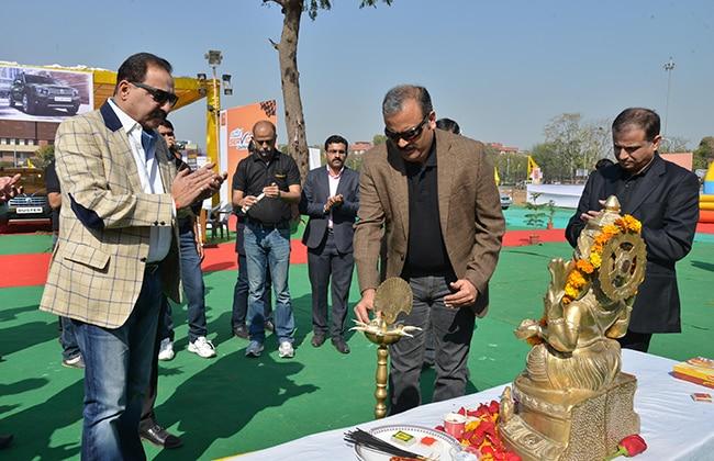 Renault Mega Service Carnival Starts in Jaipur