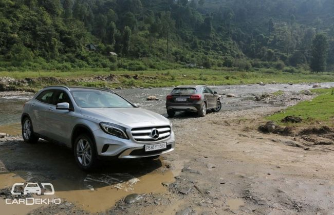 Mercedes benz india starts local assembly of gla class for Mercedes benz gla class india