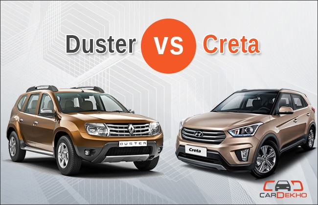 compare hyundai creta vs renault duster. Black Bedroom Furniture Sets. Home Design Ideas