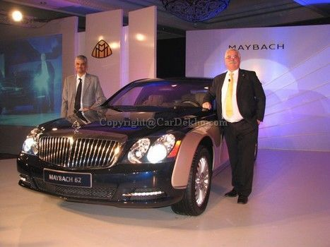 Mercedes launches the Maybach