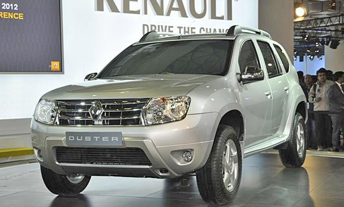 renault duster uncovered launch expected by diwali. Black Bedroom Furniture Sets. Home Design Ideas