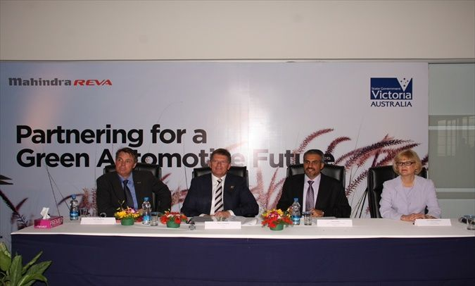 Mahindra Reva signs R&D MoUs with Australian State of Victoria