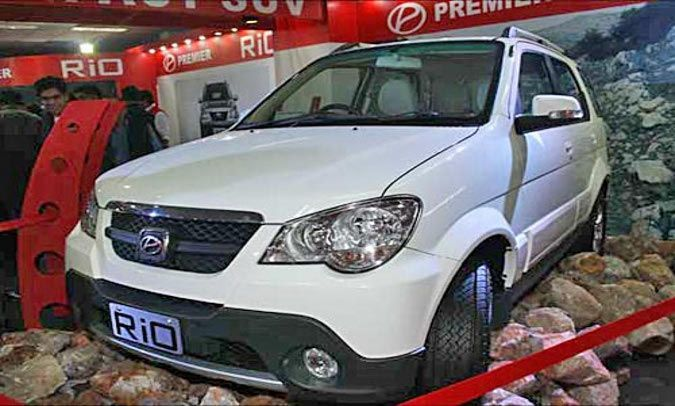 Premier Rio diesel SUV launch around the corner?