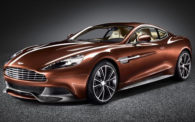 Aston Martin Unveils the New Vanquish