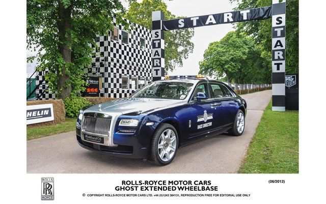 Rolls-Royce Extended Wheel-Base; Pace Car for Goodwood