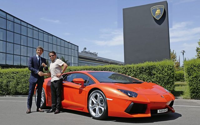 Lamborghini Aventador, 1000th Unit Sold