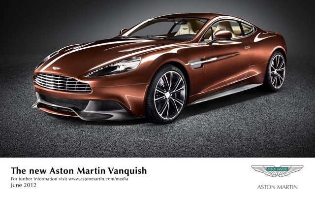 Aston Martin Vanquish Launched at Rs 3.85 Crore in India