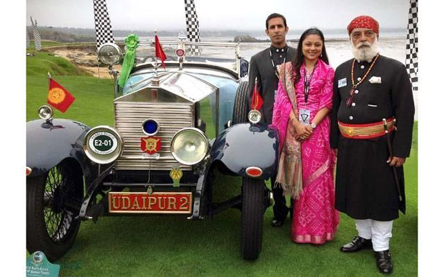 Rolls-Royce from Royal House of Udaipur Wins at Pebble Beach