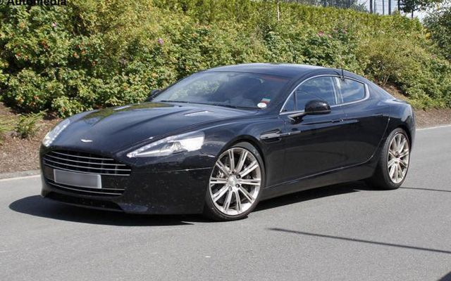 2013 Aston Martin Rapide Caught in Pictures