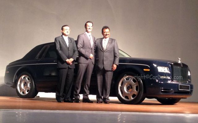 Rolls-Royce Phantom Series II Launched at Rs. 4.50 Crore