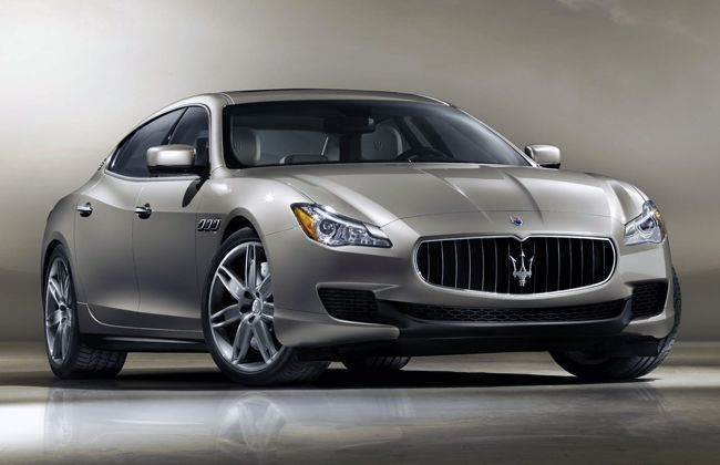 2013 Maserati Quattroporte Revealed Officially: Exterior and Interior Images