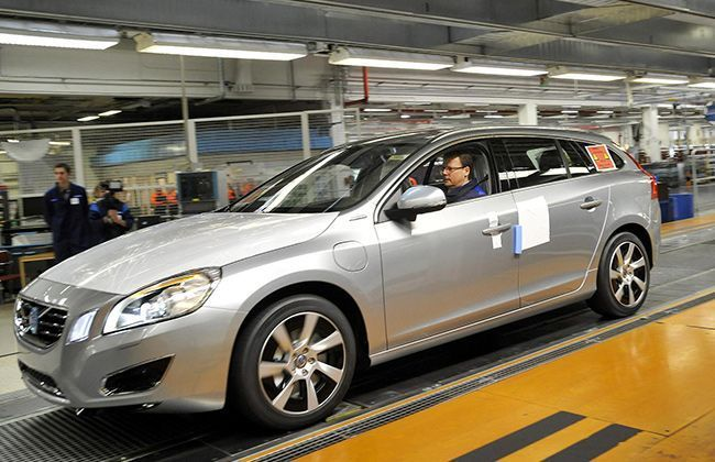 Volvo to Produce Worlds First V60 Diesel Plug-In Hybrid