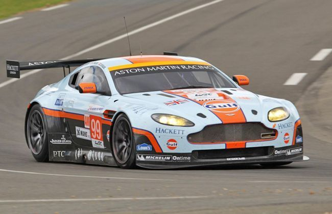 Aston Martin Vantage GTE Comes to India, Courtesy Gulf Speed Bolt