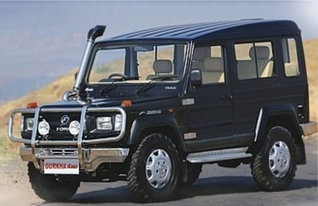 Force Gurkha 4x4 Likely to Launch by Mid 2013