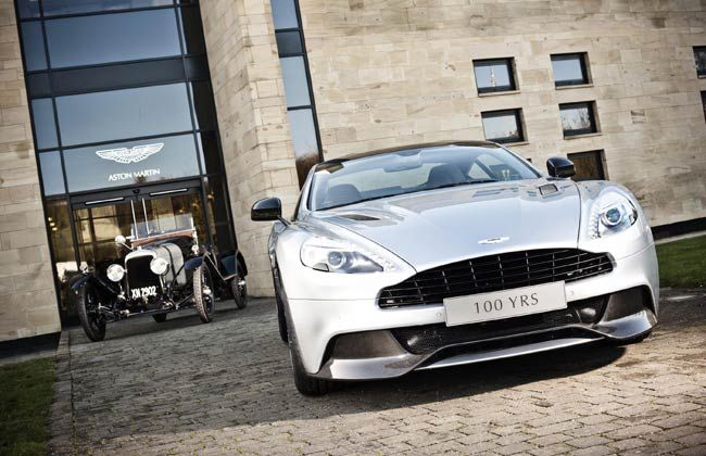 Aston Martin to celebrate its 100 years