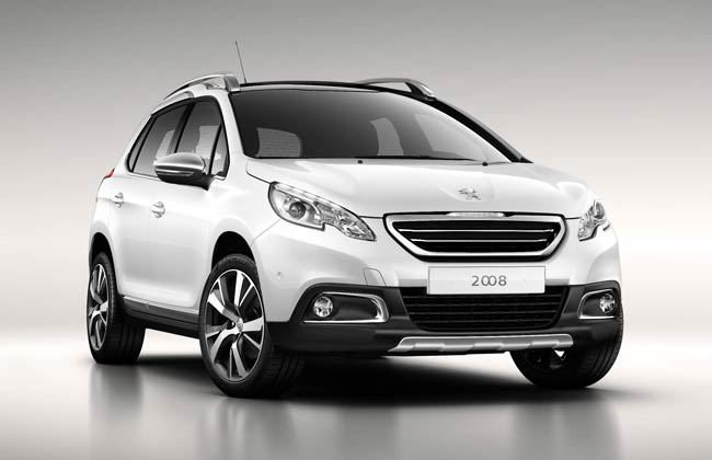 Peugeot 2008 Compact SUV Revealed Officially