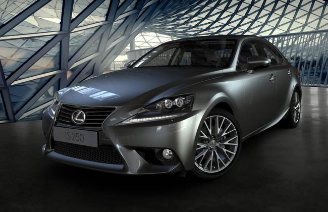 Lexus reveals the new IS range at Detroit Motor Show