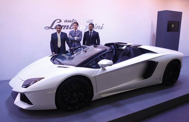 Lamborghini Aventador LP 700-4 Roadster Launched in India