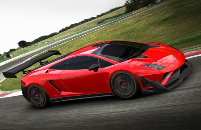 New Lamborghini Gallardo GT3 Race Car Revealed
