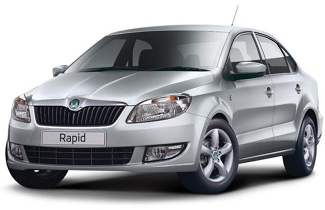 Skoda Rapid at Rs 8999 per month