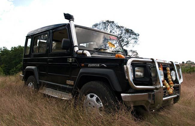 Force Gurkha 4x4 Launching on February 15