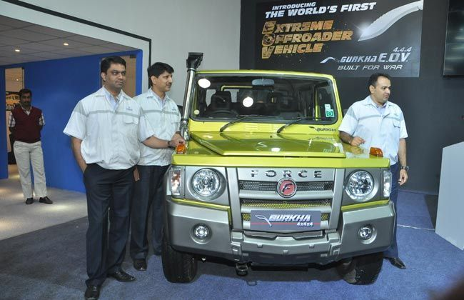 Force Gurkha SUV Launched Finally at Rs 6.25 Lakh