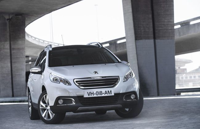 Peugeot readies its 2008