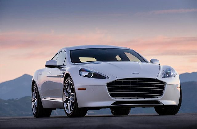 Aston Martin celebrates its 100th Year at Geneva with Rapide S