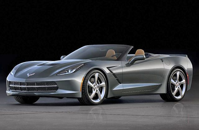 Chevrolet Reveals 2014 Corvette Stingray convertible