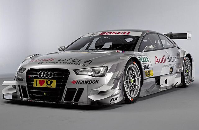 Audi RS5 DTM at the Geneva Motor Show