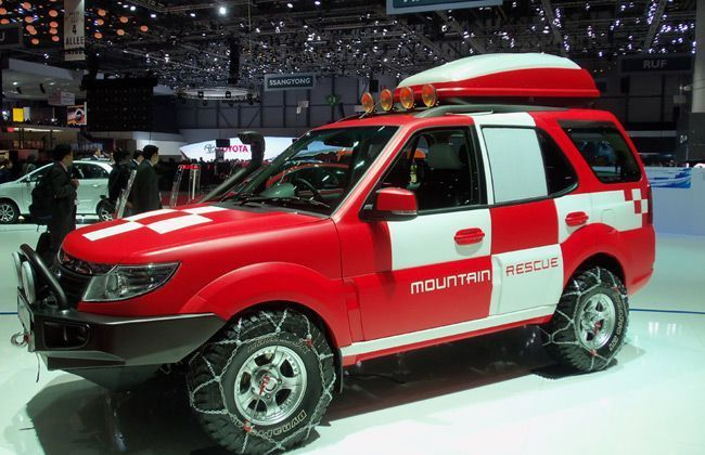 Tata Safari Storme Mountain Rescue Concept Unveiled