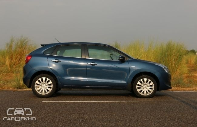 Maruti Baleno Side