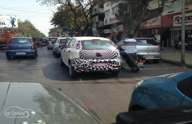 2014 Fiat Punto facelift spied, launch by mid-2014