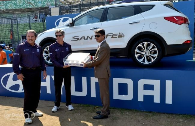 Hyundai First Ball Handover Ceremony for ICC World T20 2014