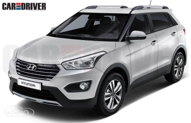 Hyundai ix25 - Rendered Image - Front Profile