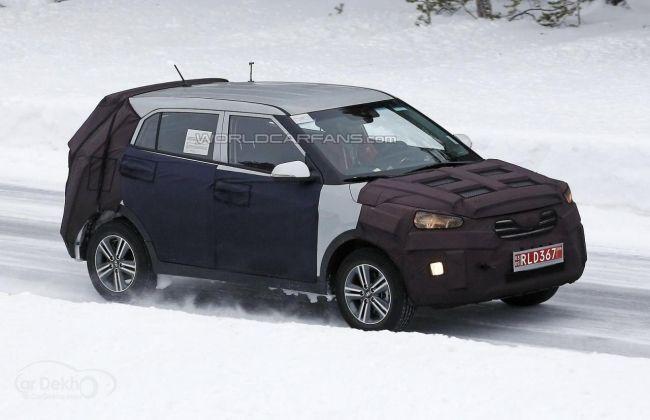 Hyundai ix25 Camouflaged