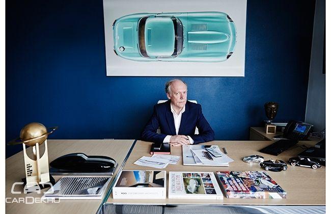 Jaguar Design Director Ian Callum joins LinkedIn as an Influence