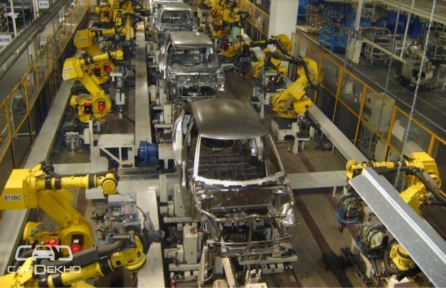 Maruti Suzuki's production