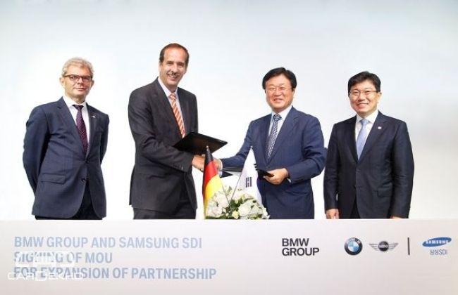 BMW Group expands its partnership with Samsung SDI