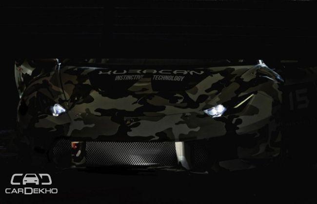 Lamborghini Huracan LP 610-4 Super Trofeo teased
