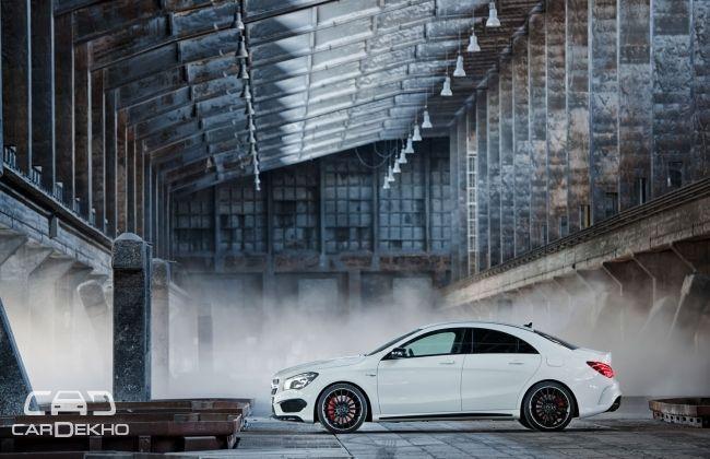 Mercedes Benz CLA 45