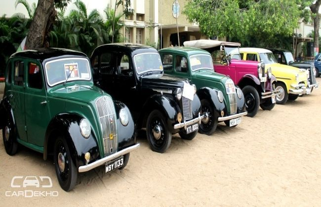 10th MyTVS Heritage Rally