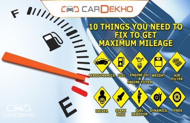 10 things you need to fix to get maximum mileage